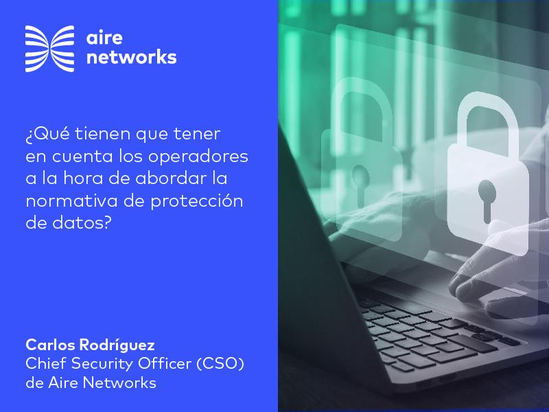 Operadores y normativa de protección de datos